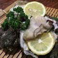 氷見産岩牡蠣料理始まりました。